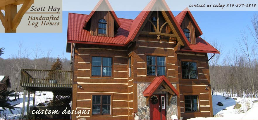 Scott Hay Handcrafted Log Homes